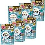 【ケース販売】 ボールド 洗濯洗剤 液体 ジェルボール ダブルプラチナ プラチナホワイトリーフの香り 詰め替え 超ジャンボサイズ 940g (48個入)×6個