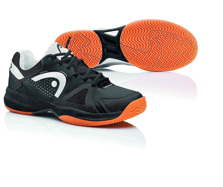 Head Grid 2.0 Black/White Men's Indoor Court Shoes (8.5) 273305