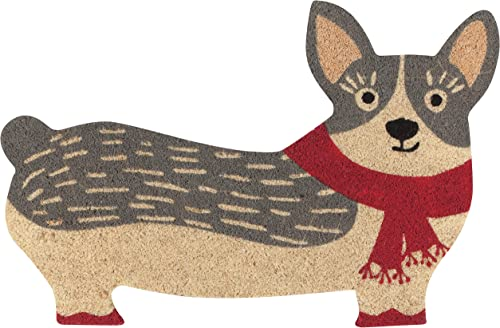 Now Designs Cora Corgi Door mat