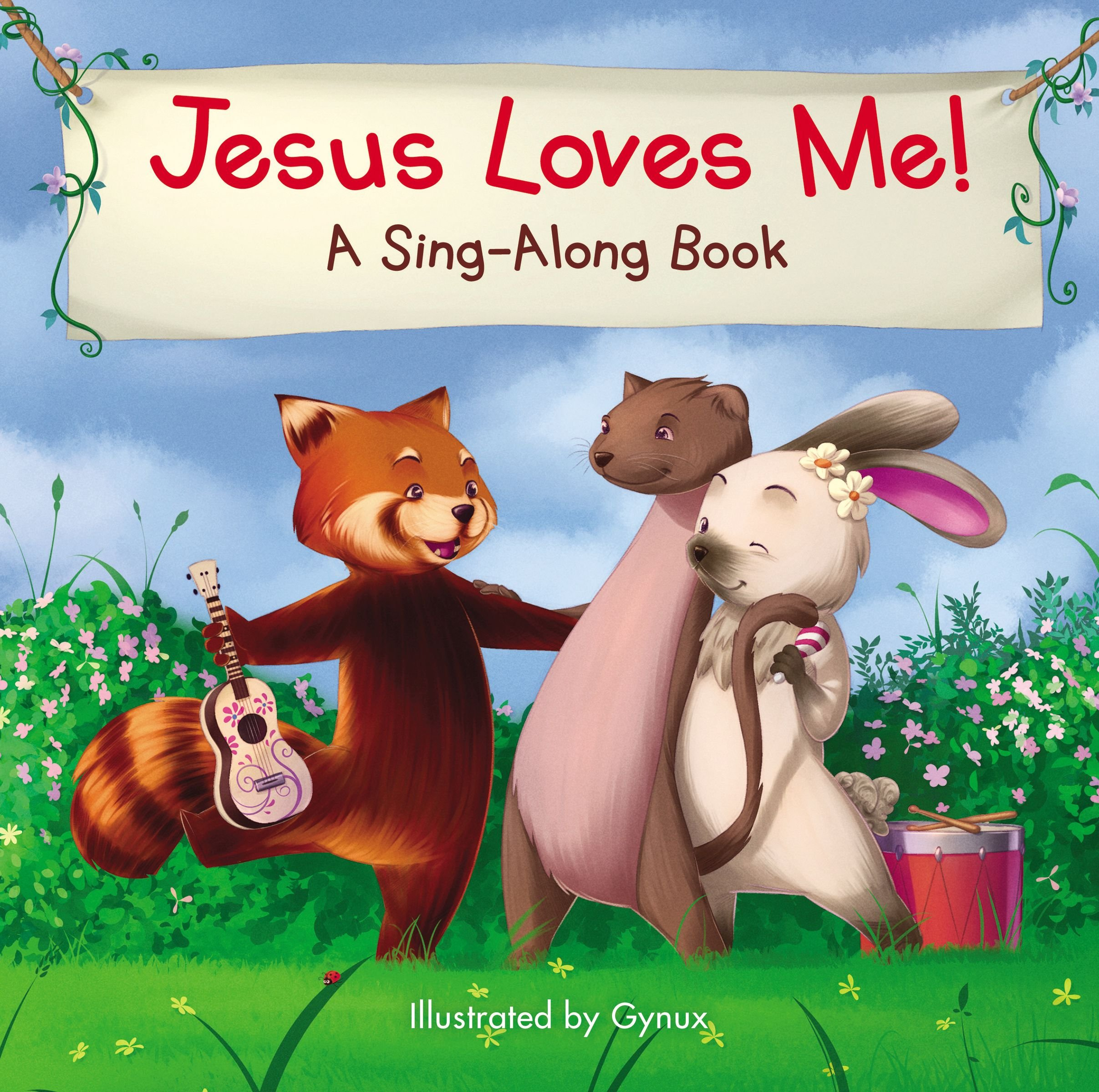 Image result for Jesus Loves Me! A Sing-Along Book illustrated by Gynux