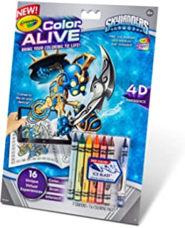 crayola color alive action coloring pages skylanders - Color Alive Coloring Pages Minions