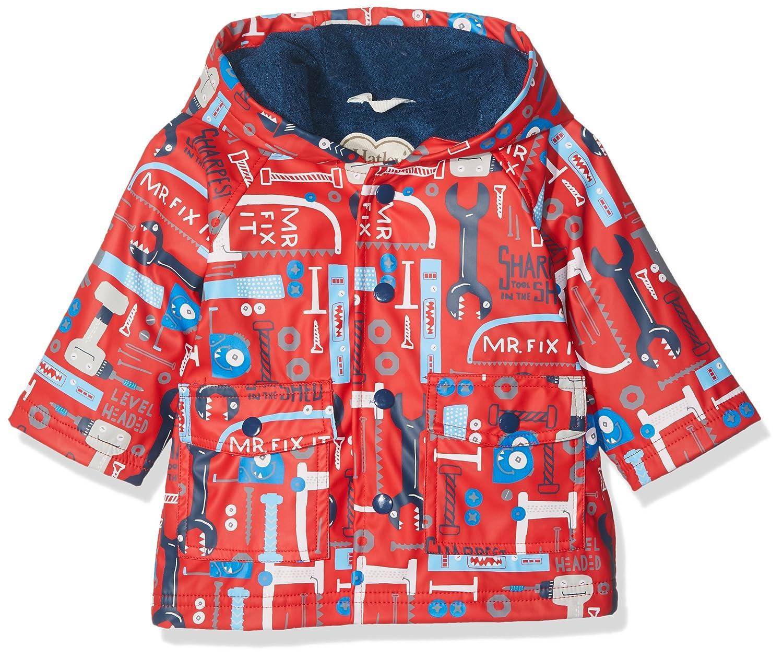 Hatley Mini Printed Raincoat, Manteau Imperméable Bébé Garçon