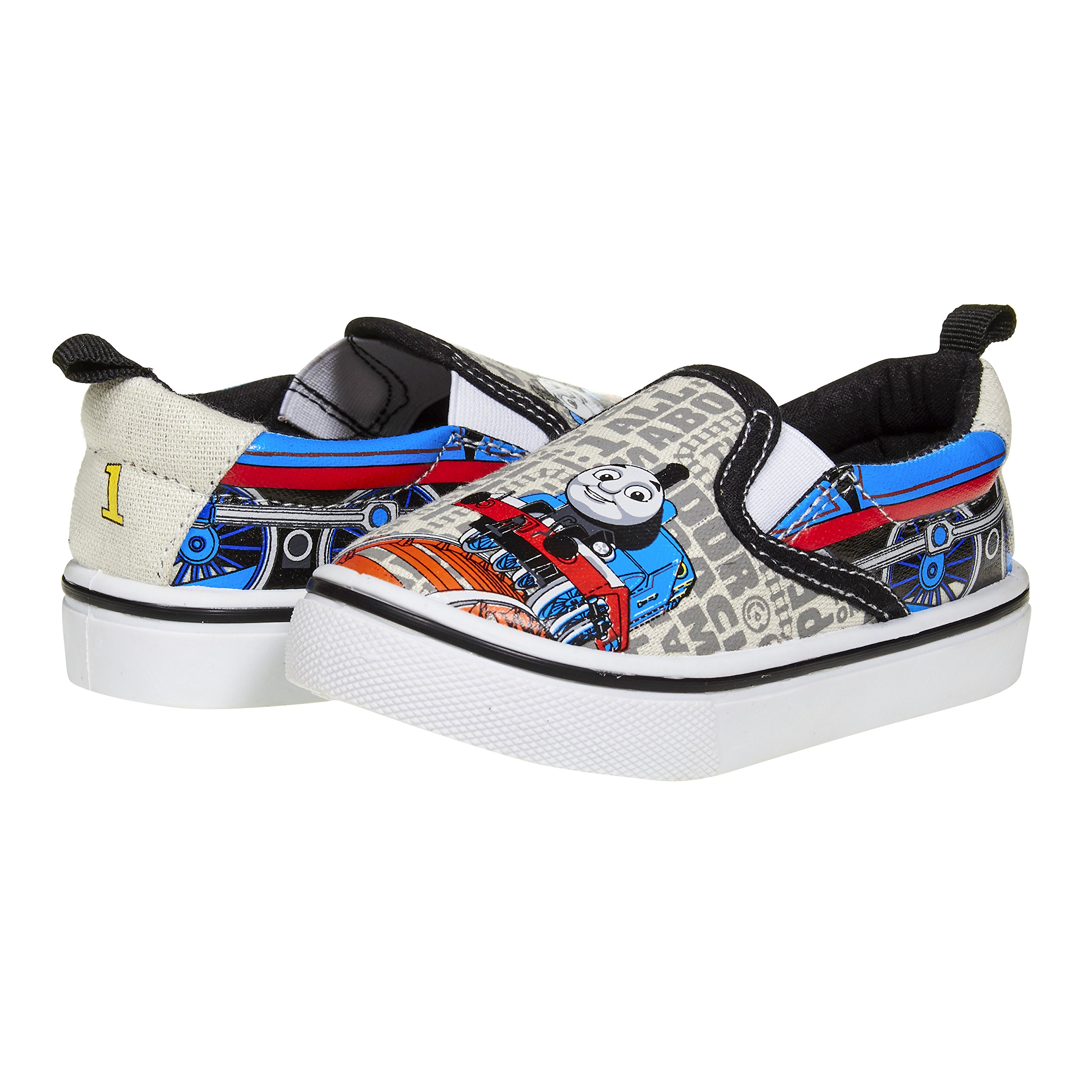 Thomas and Friends Toddler Boy Shoes; Slip-On Little Kids Character Shoes