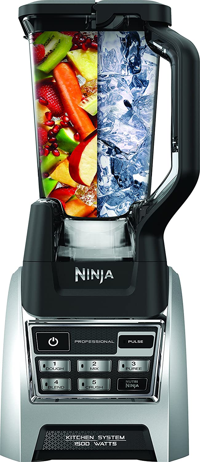 SharkNinja BL685 Nutri Ninja Blender System with Auto-iQ, 72oz, Black