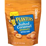 Planters Flavored Peanuts, Salted Caramel, 16 Ounce Bag