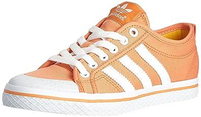 adidas Honey Stripes Low W, Damen Sneakers, Mehrfarbig - Naranja Blanco -  Größe 664b8cb7f9
