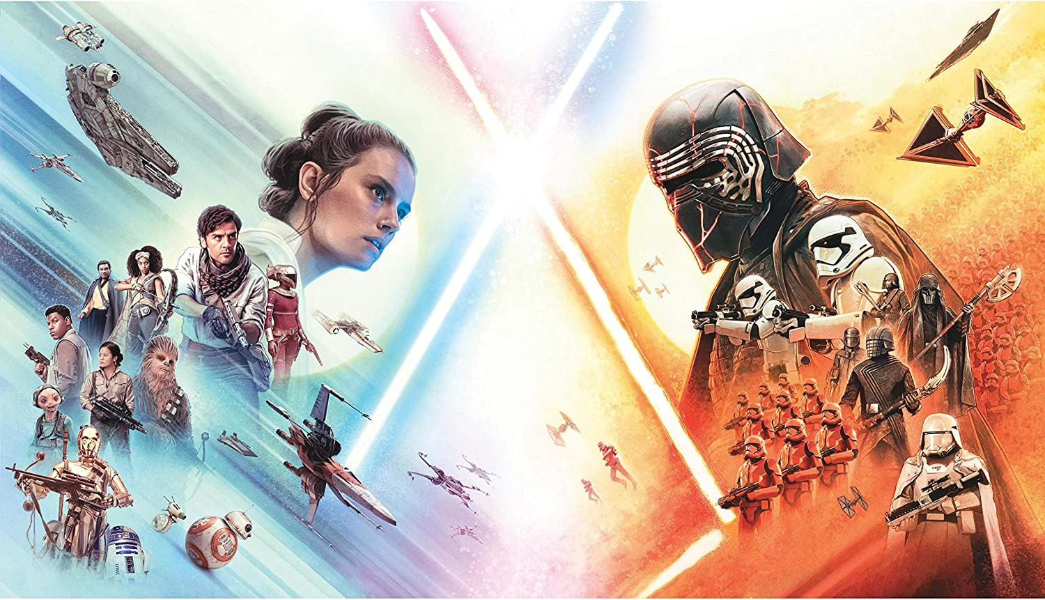 Roommates Star Wars The Rise Of Skywalker Peel And Stick Wallpaper