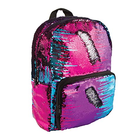 Lab Fashion Angels Magic Sequin Backpack - Multi/Silver: Toys & Games