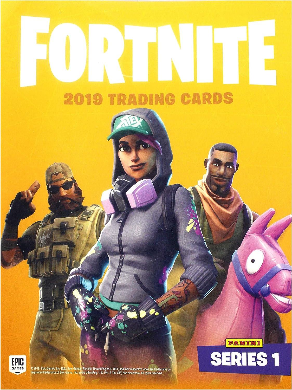 Panini Trading Cards Fortnite (Carpeta): Amazon.es: Juguetes y juegos