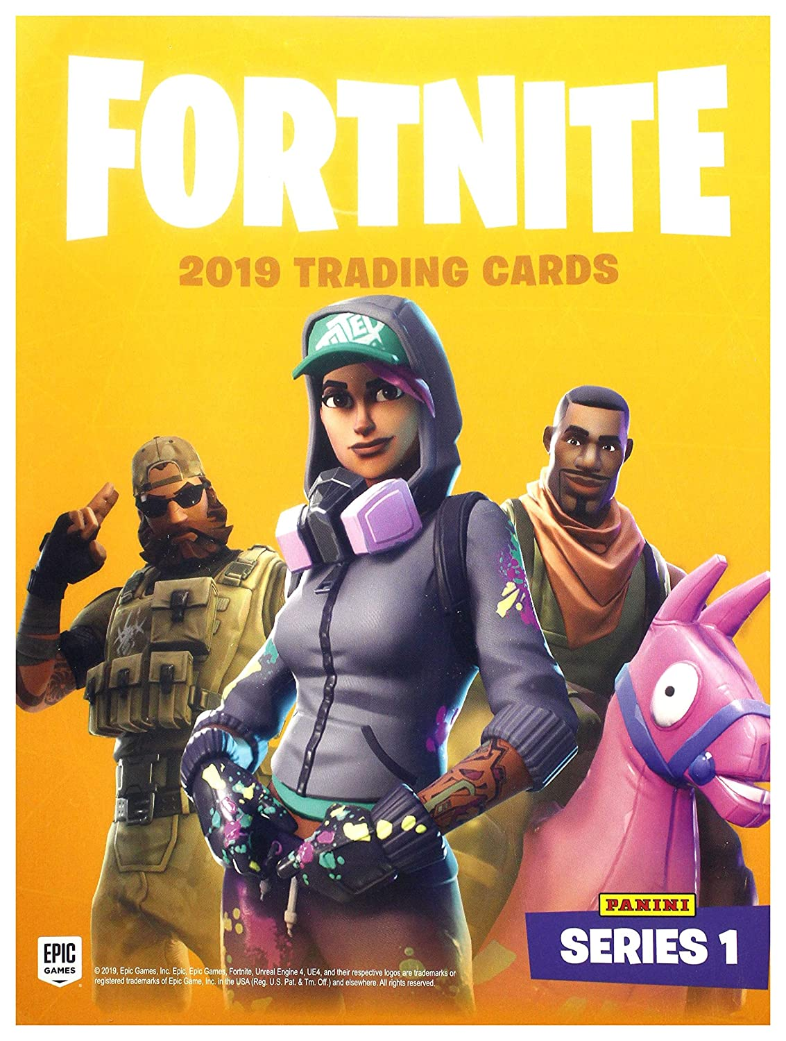 Panini Trading Cards Fortnite (Carpeta): Amazon.es: Juguetes ...