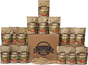 Valley Food Storage 3 Month Long Term Supply of Healthy Freeze Dried Survival Food for Emergency Preparedness (Three Month Value Kit)