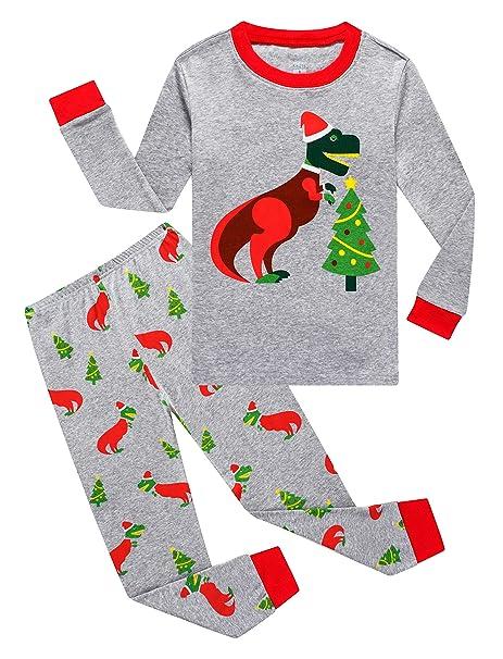 Amazon.com: KikizYe Little Big Boys - Conjunto de pijama de ...