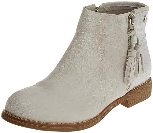 XTI 046603, Botines para Mujer, Gris (Hielo), 40 EU: Amazon.es: Zapatos y complementos