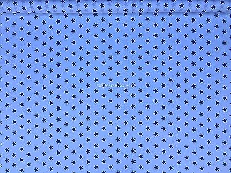 Tejido de popelín de algodón//material-STAR Tela-Elección De Colores