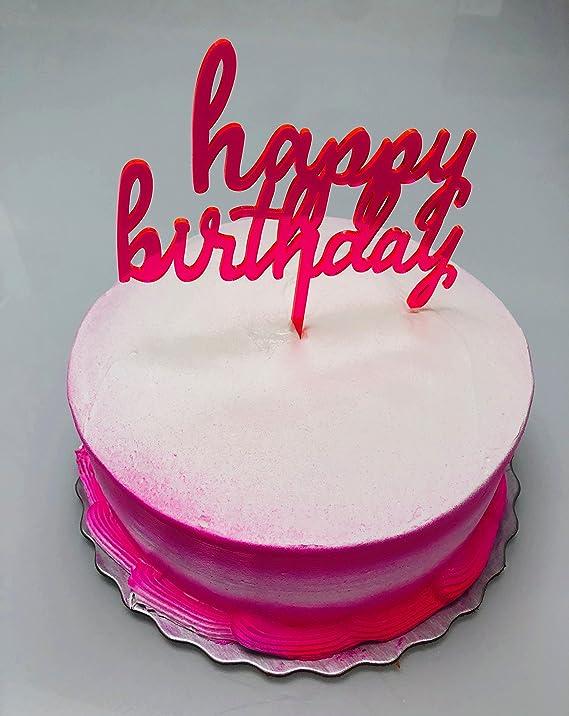 Amazon Happy Birthday Cake Topper Kitchen Dining