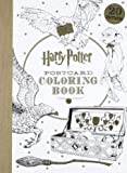 Harry Potter Postcard Coloring Book