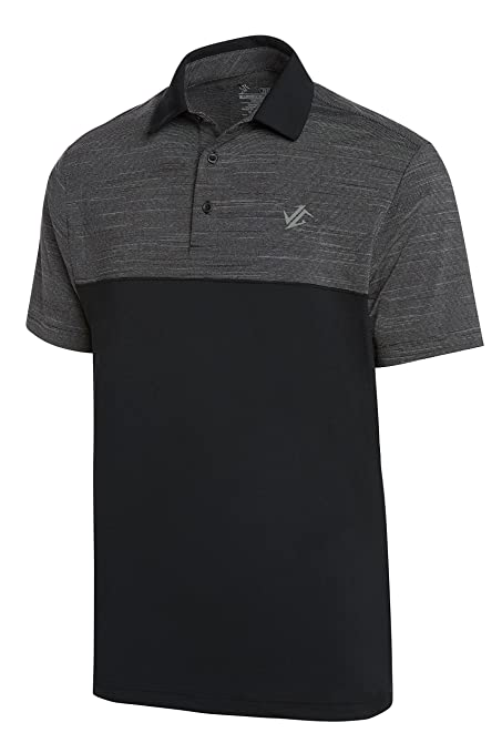 9efa8a79 Amazon.com: Jolt Gear Dri-Fit Golf Shirts for Men - Moisture Wicking  Short-Sleeve Polo Shirt: Clothing