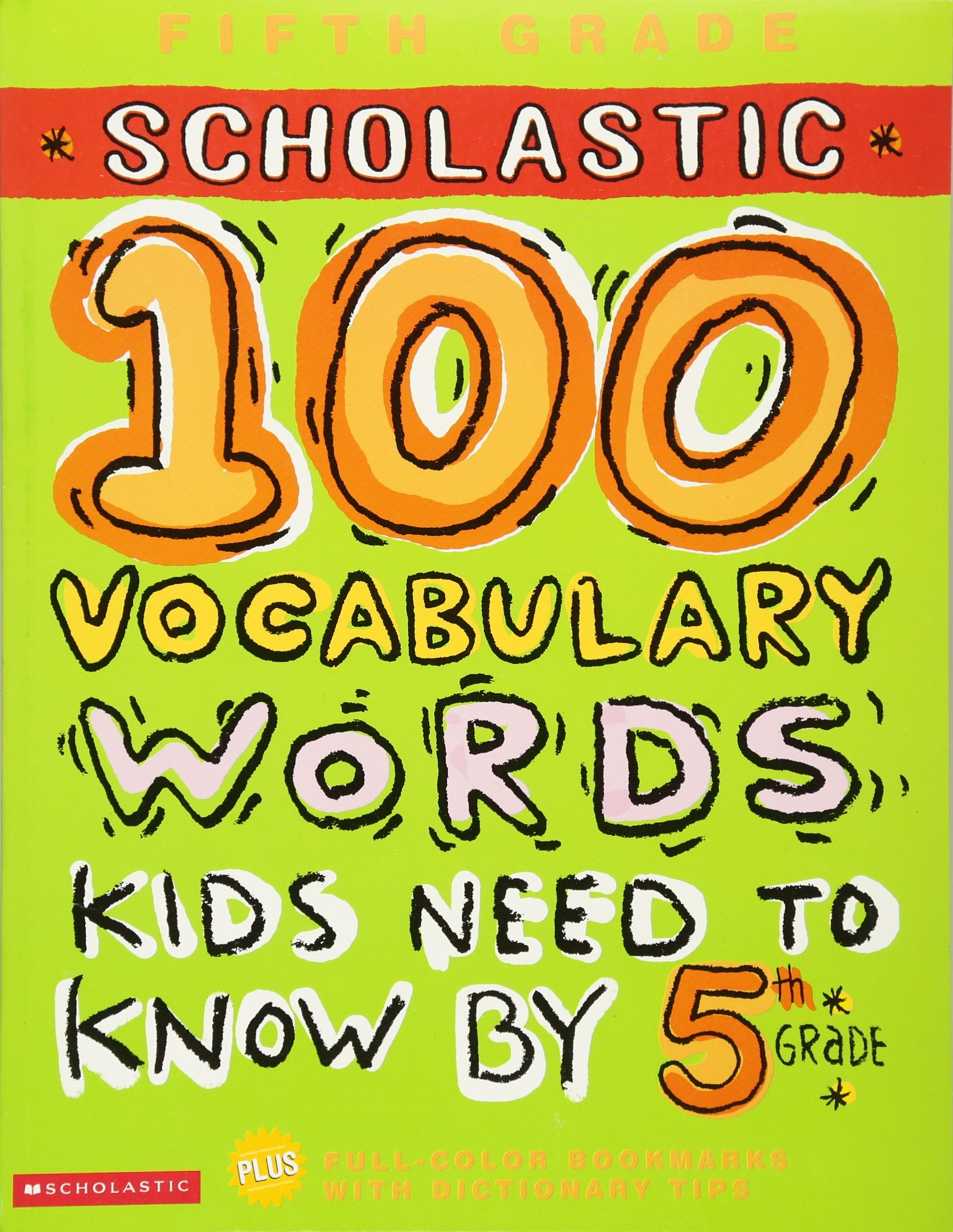 100 Vocabulary Words Kids Need to Know by 5th Grade (100 Words Workbook) by Scholastic (Image #1)