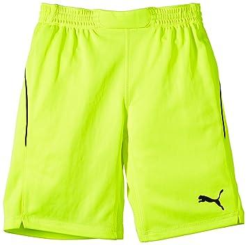 check out 58044 af4ac Puma Torwarthose GK Shorts - Pantalones cortos de portero de fútbol para  niño, color amarillo