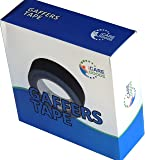 Gaffer's tape, 2 inch 55yards, matte black, GF5050200130B. Very sticky, no residue adhesive, cloth tape. Tears easy, water resistant. Buy now for special price, full satisfaction guarantee.