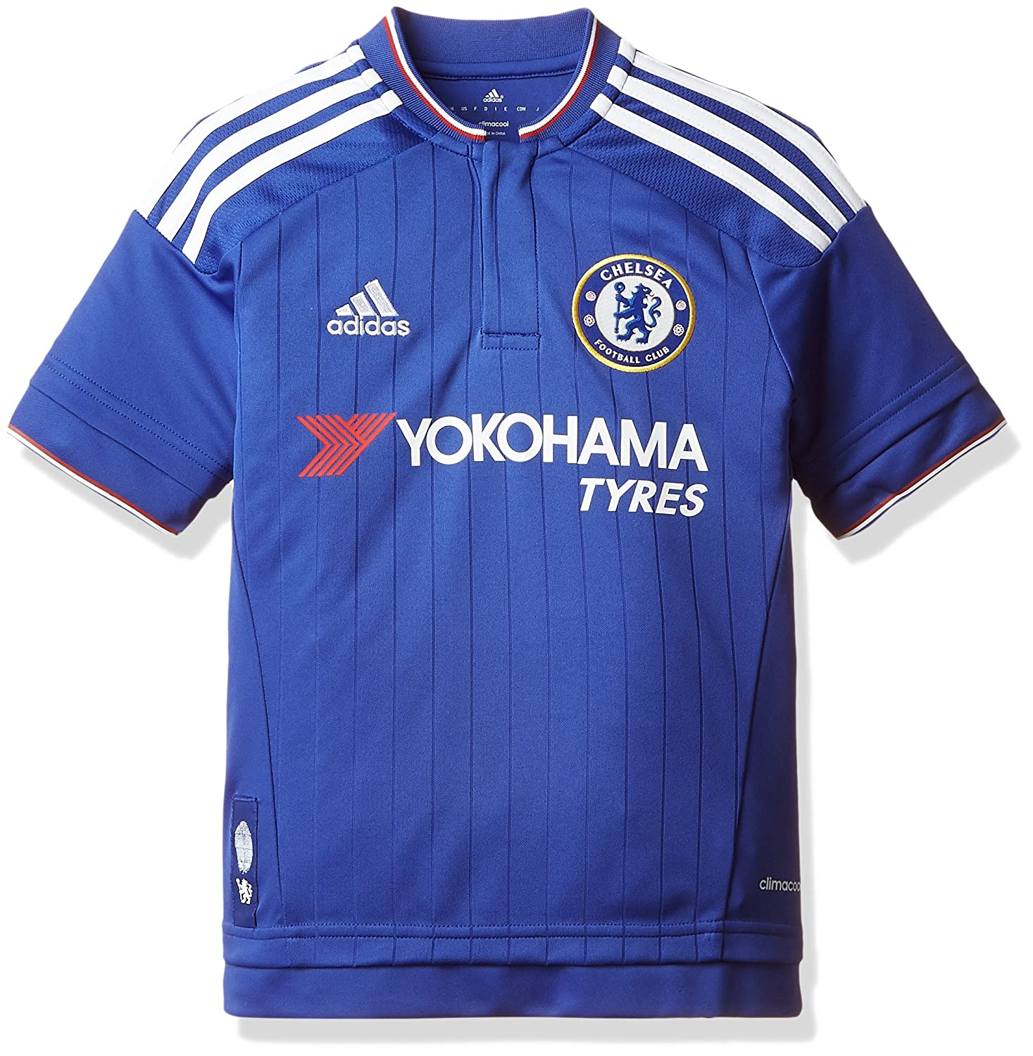 Amazon.com: adidas Chelsea Home KIDS Jersey 2015/2016 - M ...