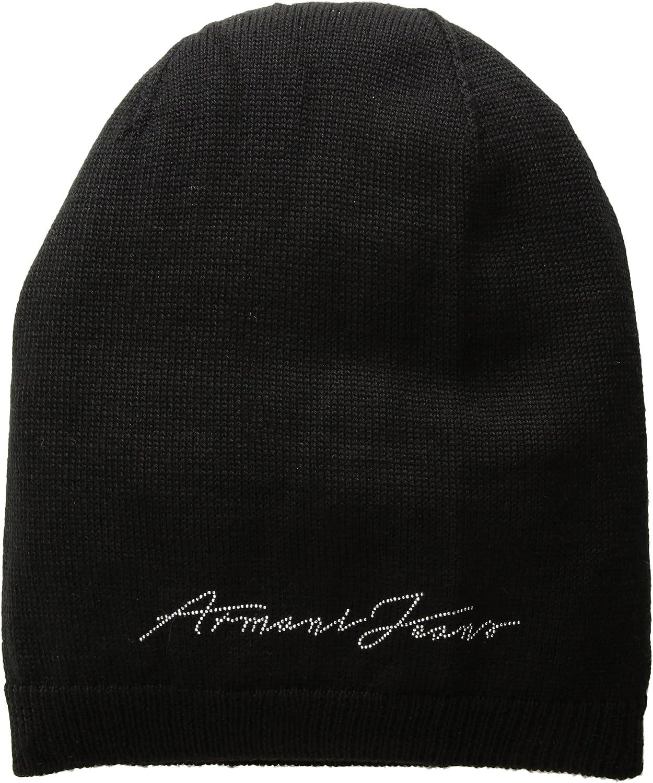 Armani Gorros Jeans Mujer - Lana (9241567A02600020): Amazon.es ...