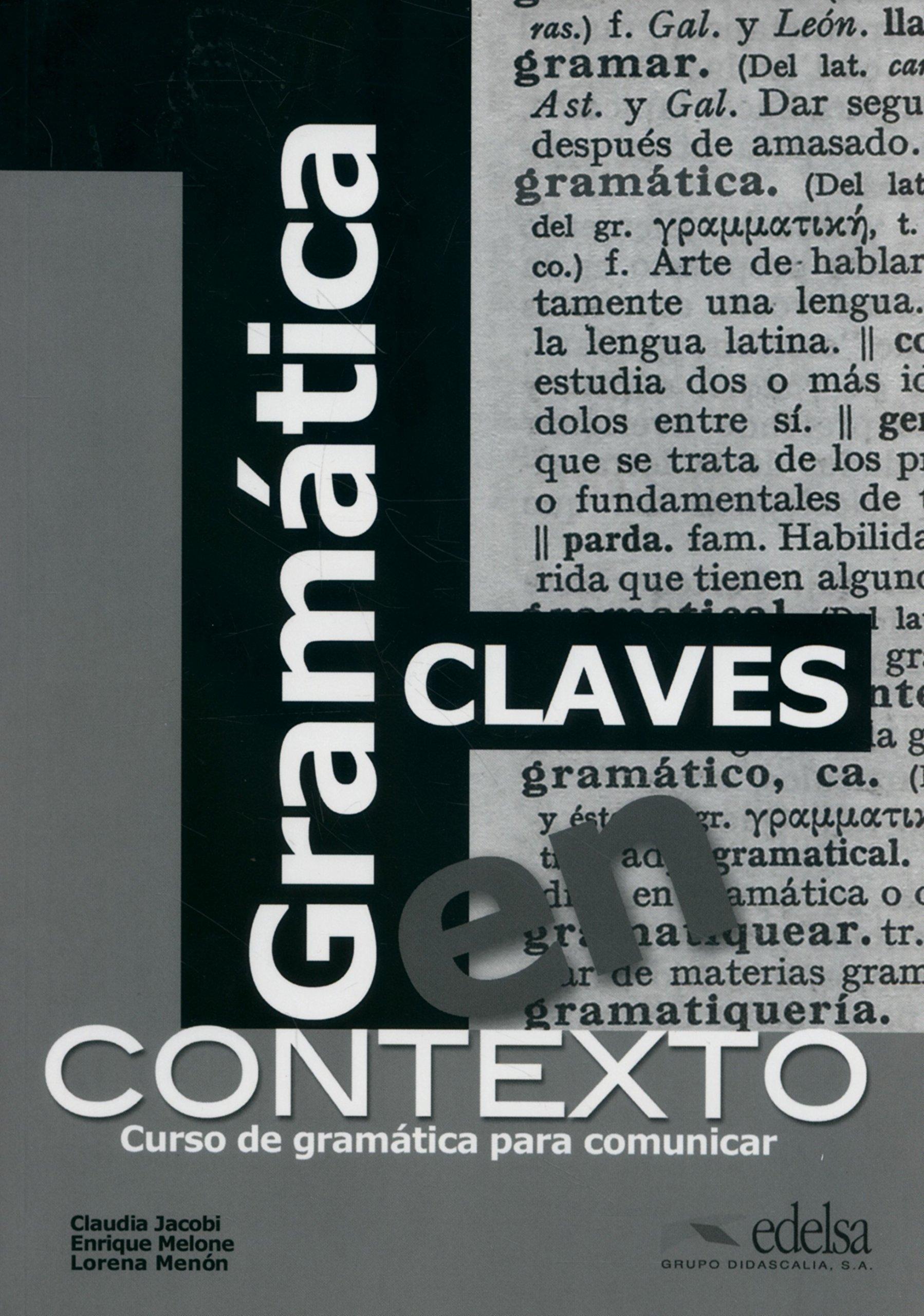 Gramática en contexto klíč (Gramática - Jóvenes Y Adultos - Gramática En Contexto - Nivel A1-B2)