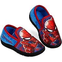 Spiderman Zapatillas Casa Niño, Zapatillas Niño con Suela Antideslizante, Merchandising Oficial Regalos para Niños