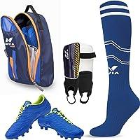 Nivia Dominator Football Shoe Combo (Football Shoe, Shin Guard, Stockings & Shoe Bag)