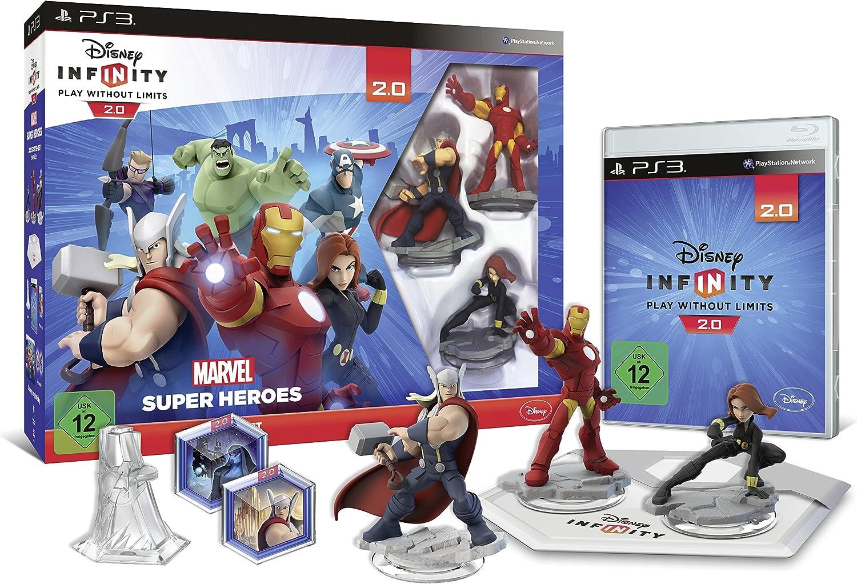 Disney Infinity 2.0: Marvel Super Heroes Starter-Set [Importación Alemana]: Amazon.es: Videojuegos
