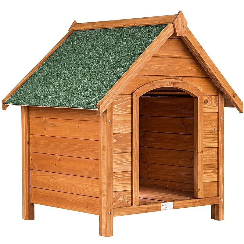 Cuccia per cani in legno da 72 x 65 x 83 cm di TecTake