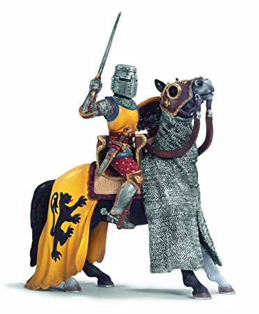 Amazon.com: Schleich Knight: Foot-Soldier with Battle Axe: Toys ...