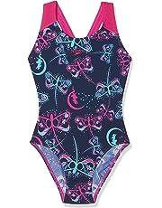 Speedo Flashfly Allover Splashback, Costume da Bagno Bambina