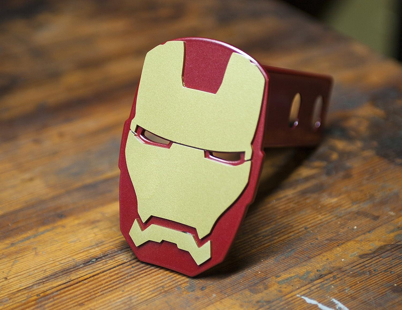 CafePress Iron Man Invincible Trailer Hitch Cover Truck Receiver Hitch Plug Insert