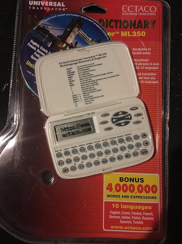 Ectaco ML350 Handheld Electronic Universal Translator Dictionary