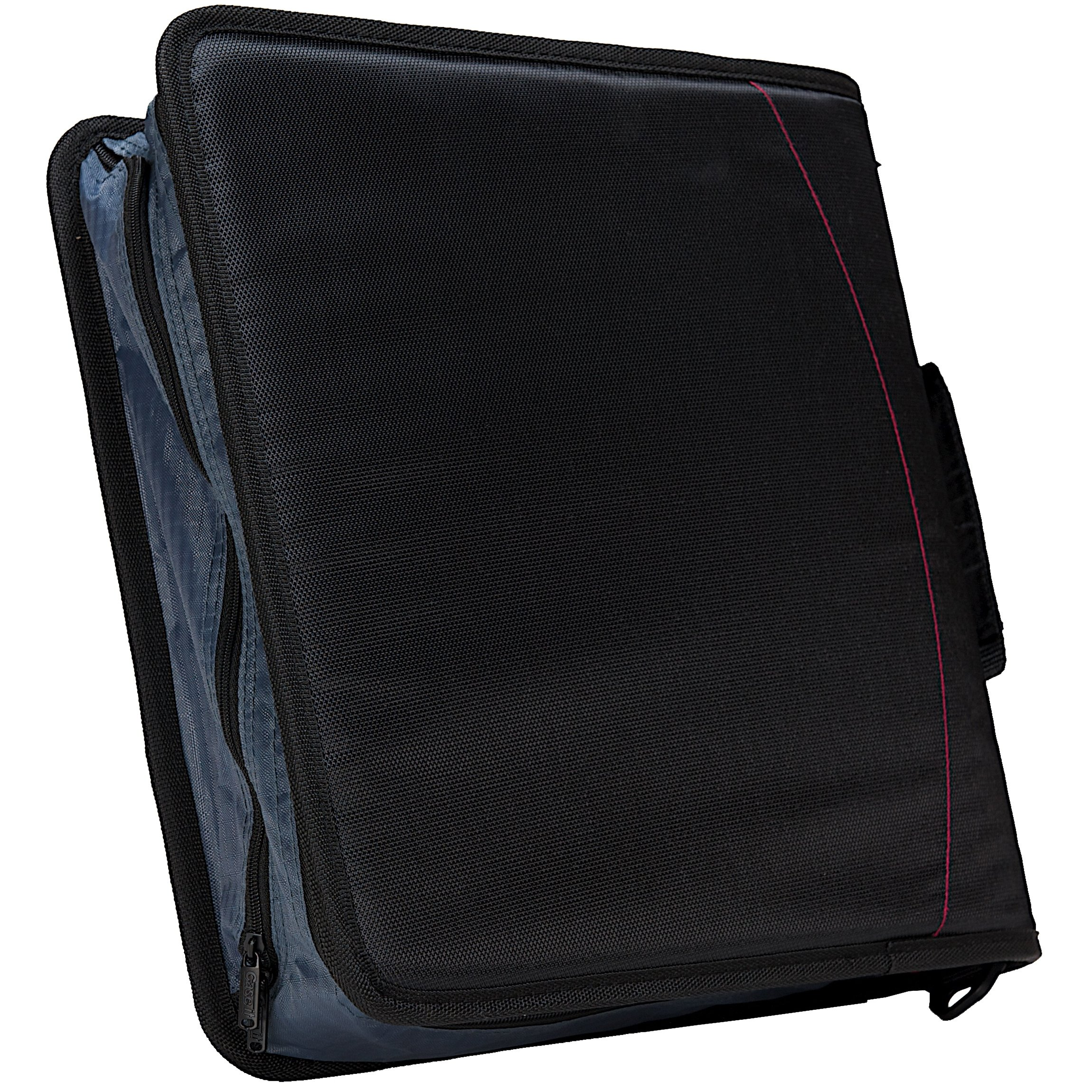 Case-it Mighty Zip Tab 3-Inch Zipper Binder