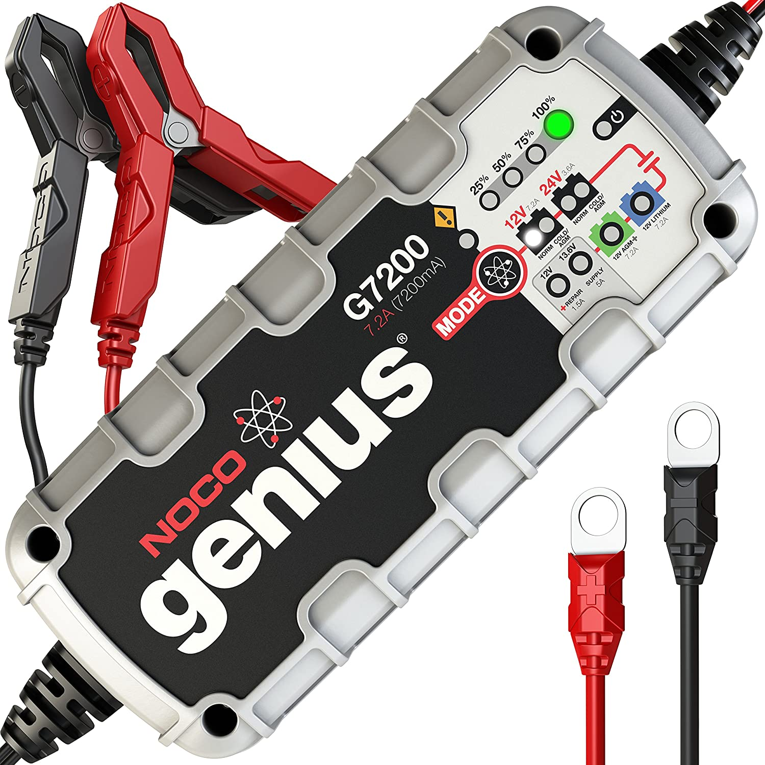 Noco Genius G7200 12v 24v 72a Ultrasafe Smart Battery Here Is A Simple Circuit For Charging Car The Charger Automotive