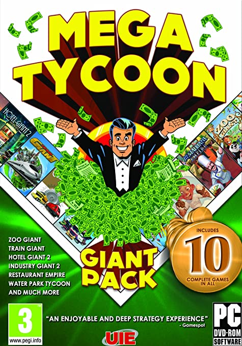The Tycoon Compilation (Mega Tycoon Giant Pack) (Pc Dvd ...