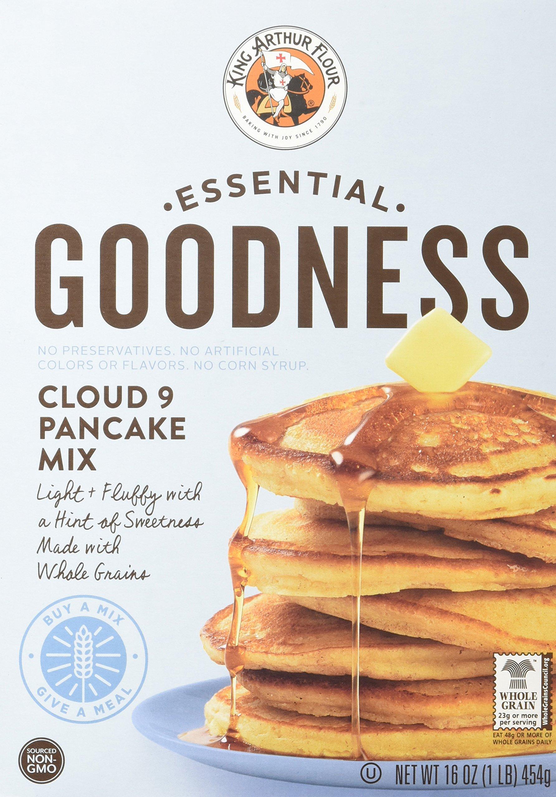 King Arthur Flour Essential Goodness Cloud 9 Pancake Mix, 16 Ounce