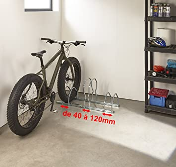 Mottez b129 V3 X L Aparcabicicletas (3 bicicletas sobre 2 niveles ...