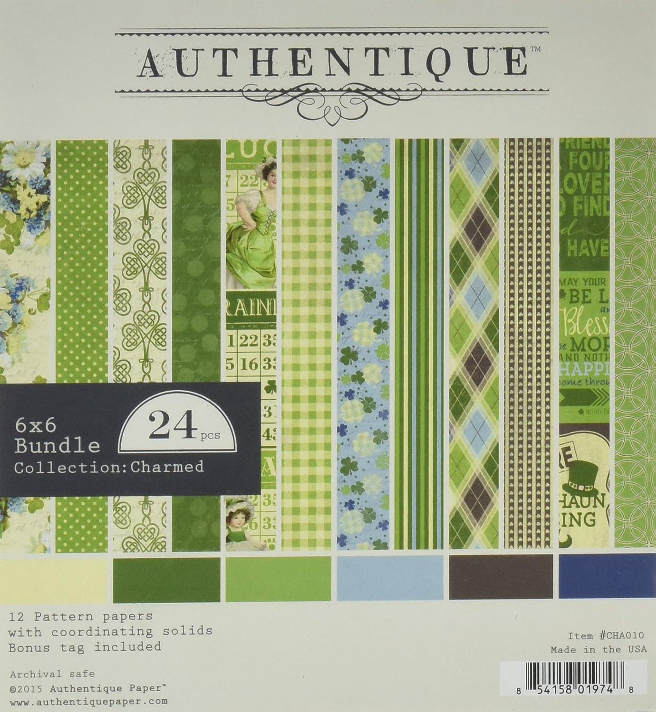 Authentique Abroad 6x6 Paper Bundle