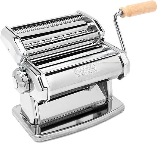 Compra Imperia Sp150 Maquina Pasta Manual, Plata, 20.3 X 18.3 X ...