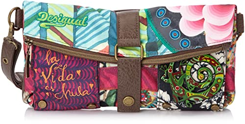 Desigual CLUTCH/BRUSELAS CARRY - Cartera de mano para mujer: Amazon.es: Zapatos y complementos