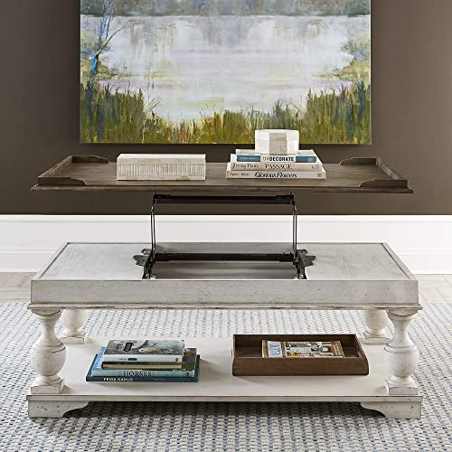 Liberty Furniture Industries Abbey Road Lift Top Cocktail Table - a good cheap living room table