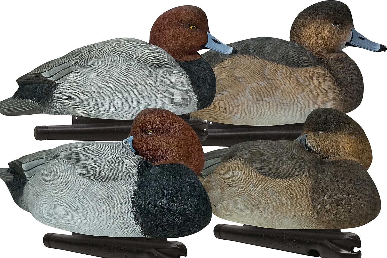 AVIAN-X Top Flight Red Heads Duck Hunting Decoys 8089