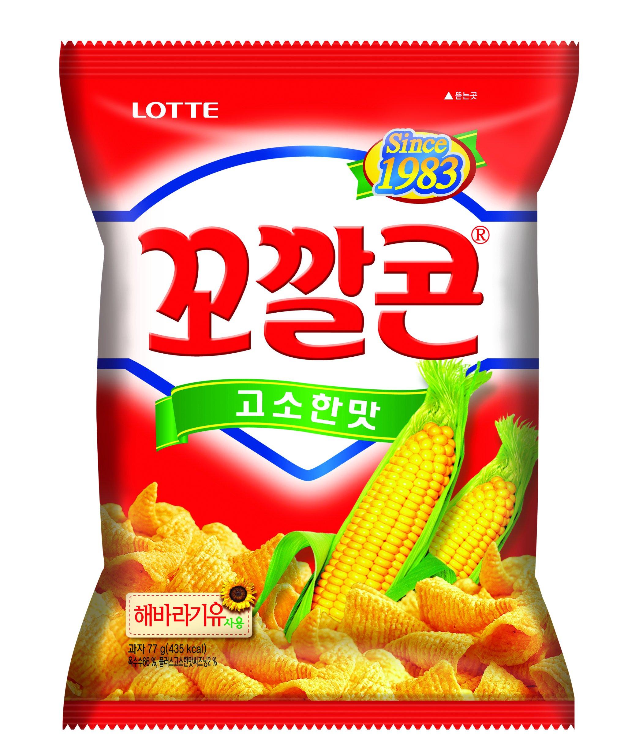 Lotte Kkokkalcorn Original Flavor