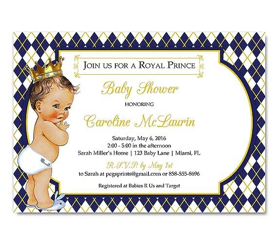 Superior Royal Baby Shower Invitation   Prince Baby Shower Invitations Boy   Royal  Prince Baby Shower Invites