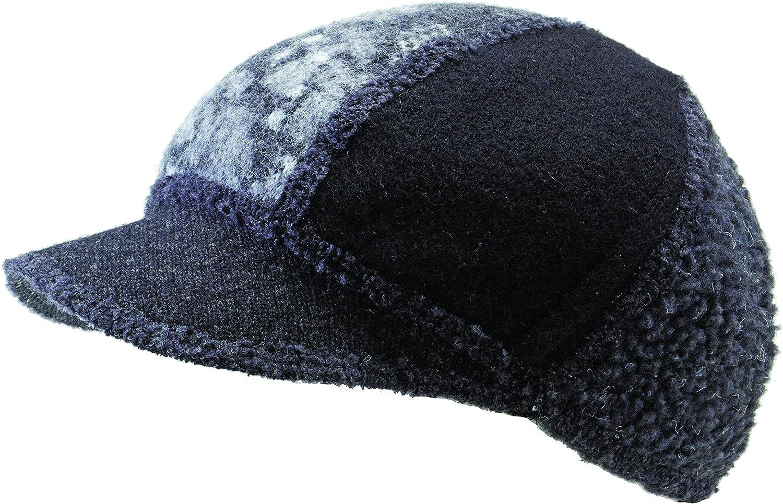 Icebox Knitting Xob Kids Soft Visor Winter Wool Hat Skull Cap Beanie for Girls and Boys