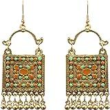Sitashi Multicolor Metal Dangle & Drop Earring For Women
