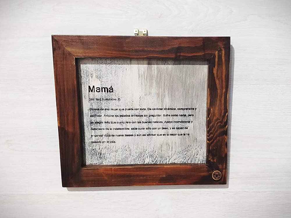 Cuadro definición de Mamá Regalo ideal madre personalizado ...